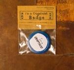 etsy badge blue front pack
