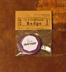 etsy badge purple front pack