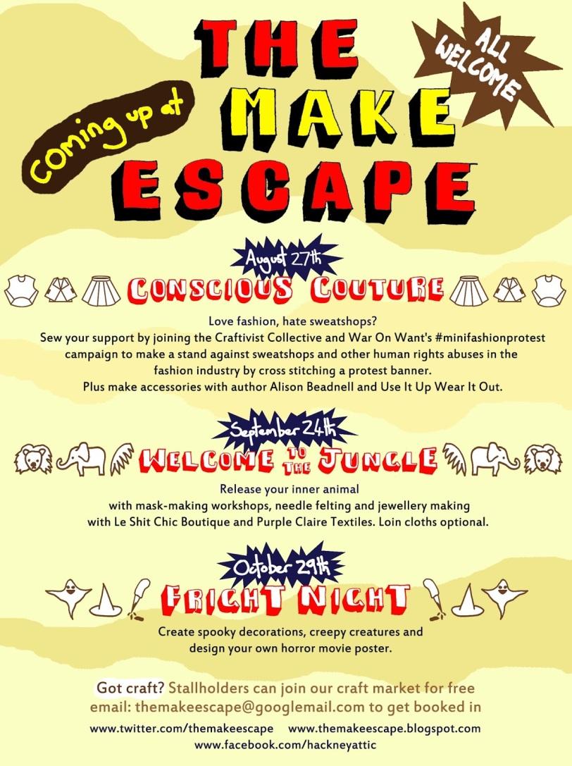 Make Escape Autumn 2013 back-2